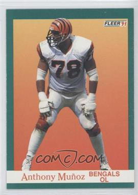 1991 Fleer #26 - Anthony Munoz