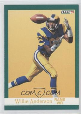 "1991 Fleer #264 - Willie ""Flipper"" Anderson"
