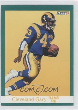 1991 Fleer #268 - Cleveland Gary