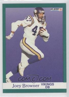1991 Fleer #278 - Joey Browner