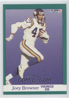 1991 Fleer #278 - Joey Browner