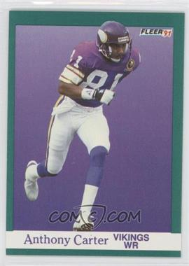 1991 Fleer #279 - Anthony Carter