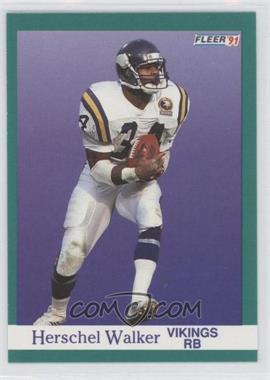 1991 Fleer #288 - Herschel Walker