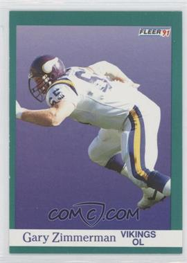 1991 Fleer #290 - Gary Zimmerman