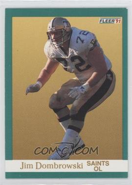 1991 Fleer #292 - Jim Dombrowski