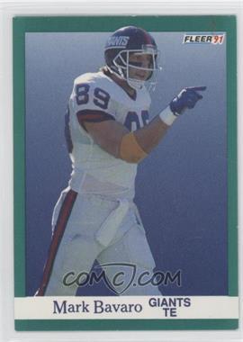1991 Fleer #307 - Matt Bahr