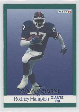 1991 Fleer #311 - Rodney Hampton