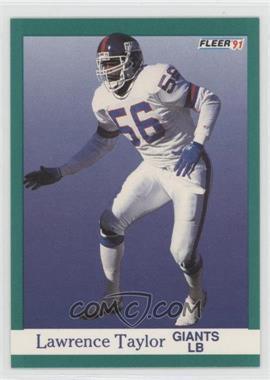1991 Fleer #319 - Lawrence Taylor