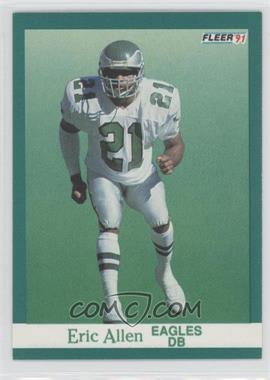 1991 Fleer #322 - Eric Allen