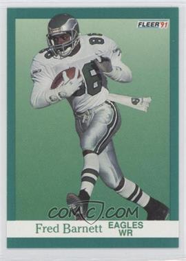 1991 Fleer #323 - Fred Barnett