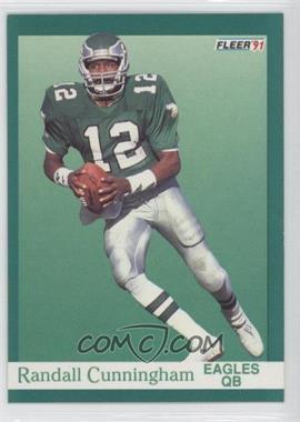 1991 Fleer #326 - Randall Cunningham