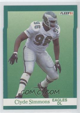 1991 Fleer #332 - Clyde Simmons