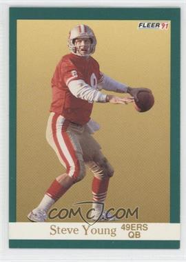 1991 Fleer #367 - Steve Young