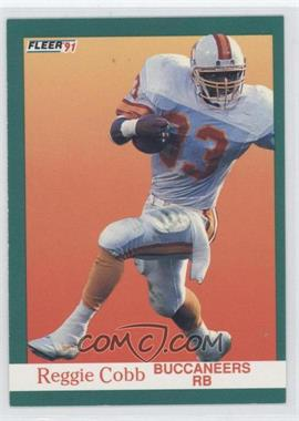 1991 Fleer #371 - Reggie Cobb