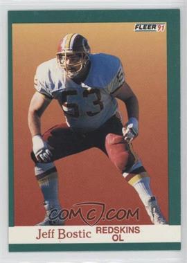 1991 Fleer #382 - Jeff Bostic
