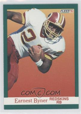 1991 Fleer #383 - Earnest Byner