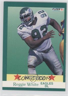 1991 Fleer #397 - Reggie White