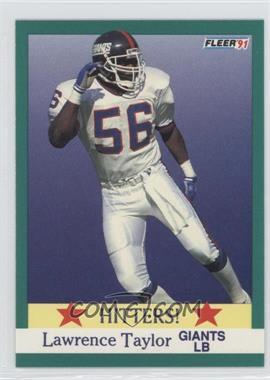 1991 Fleer #398 - Lawrence Taylor
