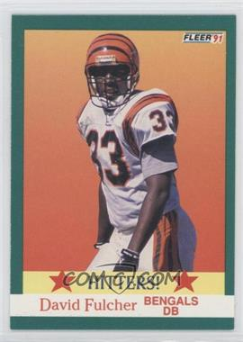 1991 Fleer #399 - David Fulcher