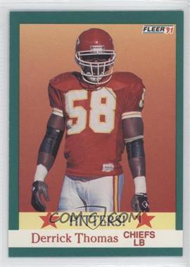 1991 Fleer #400 - Derrick Thomas
