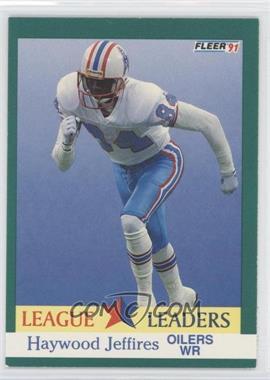 1991 Fleer #412 - Haywood Jeffires
