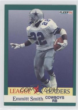 1991 Fleer #418 - Emmitt Smith