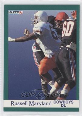 1991 Fleer #423 - Russell Maryland