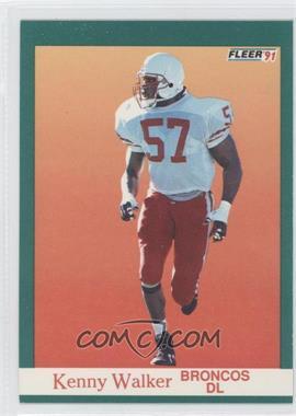 1991 Fleer #428 - Kenny Walker