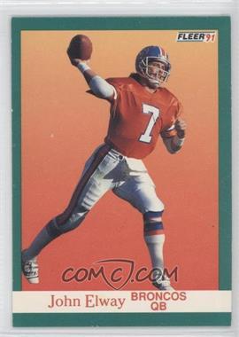 1991 Fleer #45 - John Elway