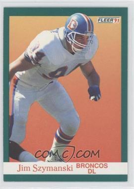 1991 Fleer #55 - Jim Szymanski