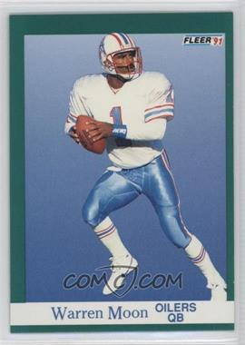 1991 Fleer #70 - Warren Moon