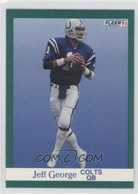 1991 Fleer #81 - Jeff George