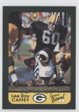 1991 Green Bay Packers Super Bowl II 25th Anniversary #20 - Lee Roy Caffey