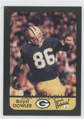 1991 Green Bay Packers Super Bowl II 25th Anniversary #37 - Boyd Dowler