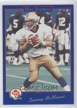 1991 Jogo CFL - [Base] #143 - Danny McManus