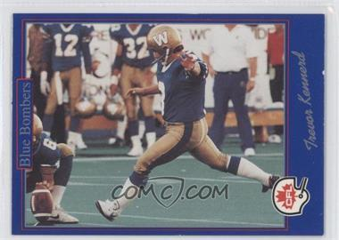 1991 Jogo CFL - [Base] #199 - Trevor Kennerd
