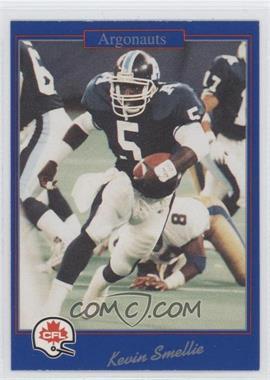 1991 Jogo CFL - [Base] #201 - Kevin A. Smith