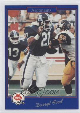 1991 Jogo CFL - [Base] #212 - Darryl Ford