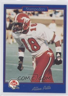 1991 Jogo CFL - [Base] #58 - Allen Pinkett