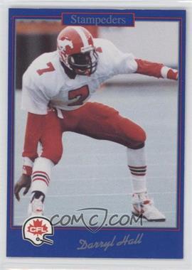 1991 Jogo CFL - [Base] #64 - Darryl Hall