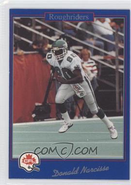 1991 Jogo CFL #118 - Donald Narcisse