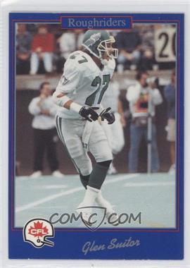 1991 Jogo CFL #136 - Glen Suitor