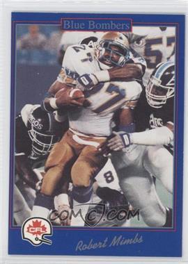 1991 Jogo CFL #164 - Robert Mimbs