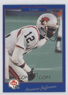 1991 Jogo CFL #171 - [Missing]