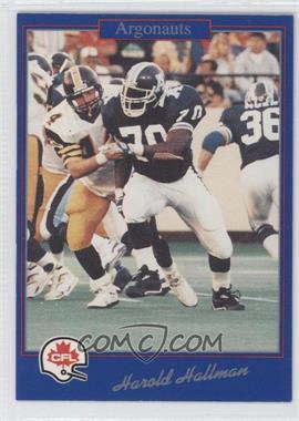 1991 Jogo CFL #192 - Harold Hallman