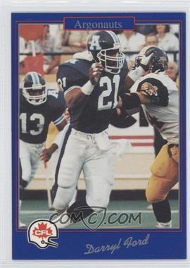 1991 Jogo CFL #212 - Darryl Ford