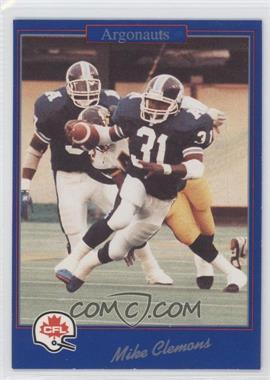 1991 Jogo CFL #217 - Mike Clemons