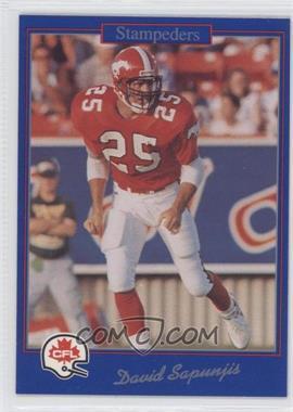 1991 Jogo CFL #78 - Dan Saleaumua