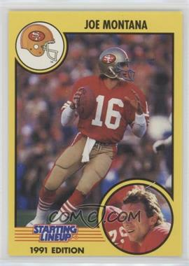1991 Kenner Starting Lineup - [Base] #16 - Joe Montana