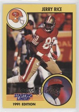 1991 Kenner Starting Lineup - [Base] #N/A - Jerry Rice